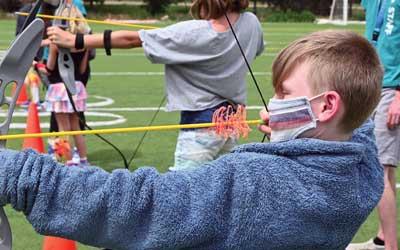 archery at ymca camp