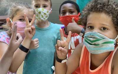 kids at longmont camp